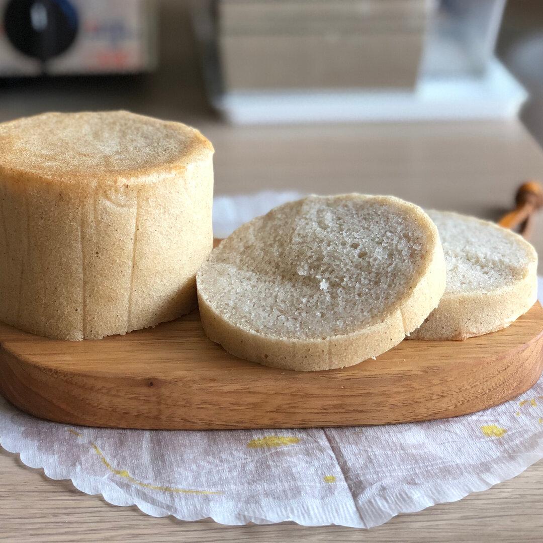 グルテンフリー ホワイトソルガムのラウンド食パン