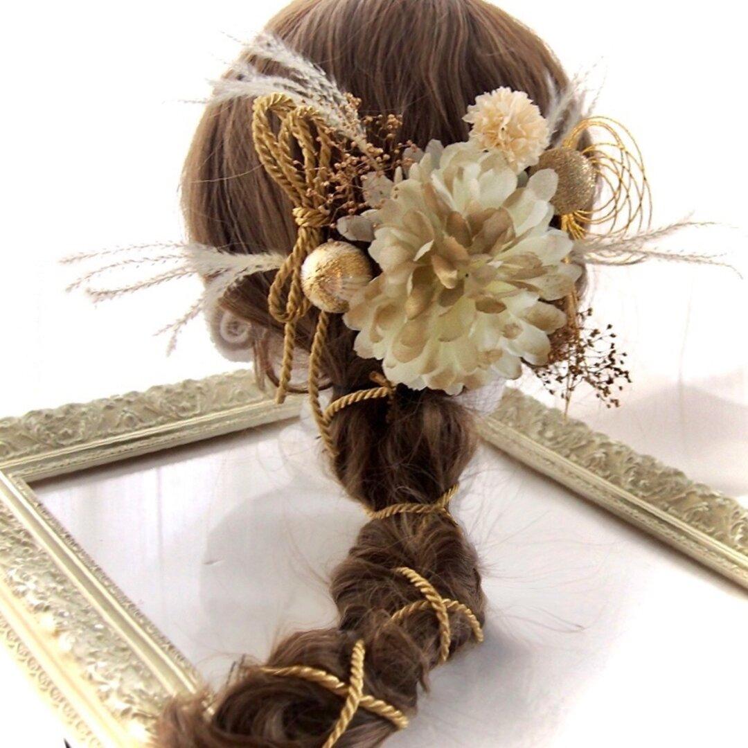 成人式、和装、髪飾り