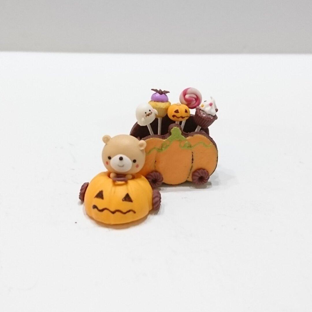 【受注製作】ハロウィンかぼちゃの車に乗って