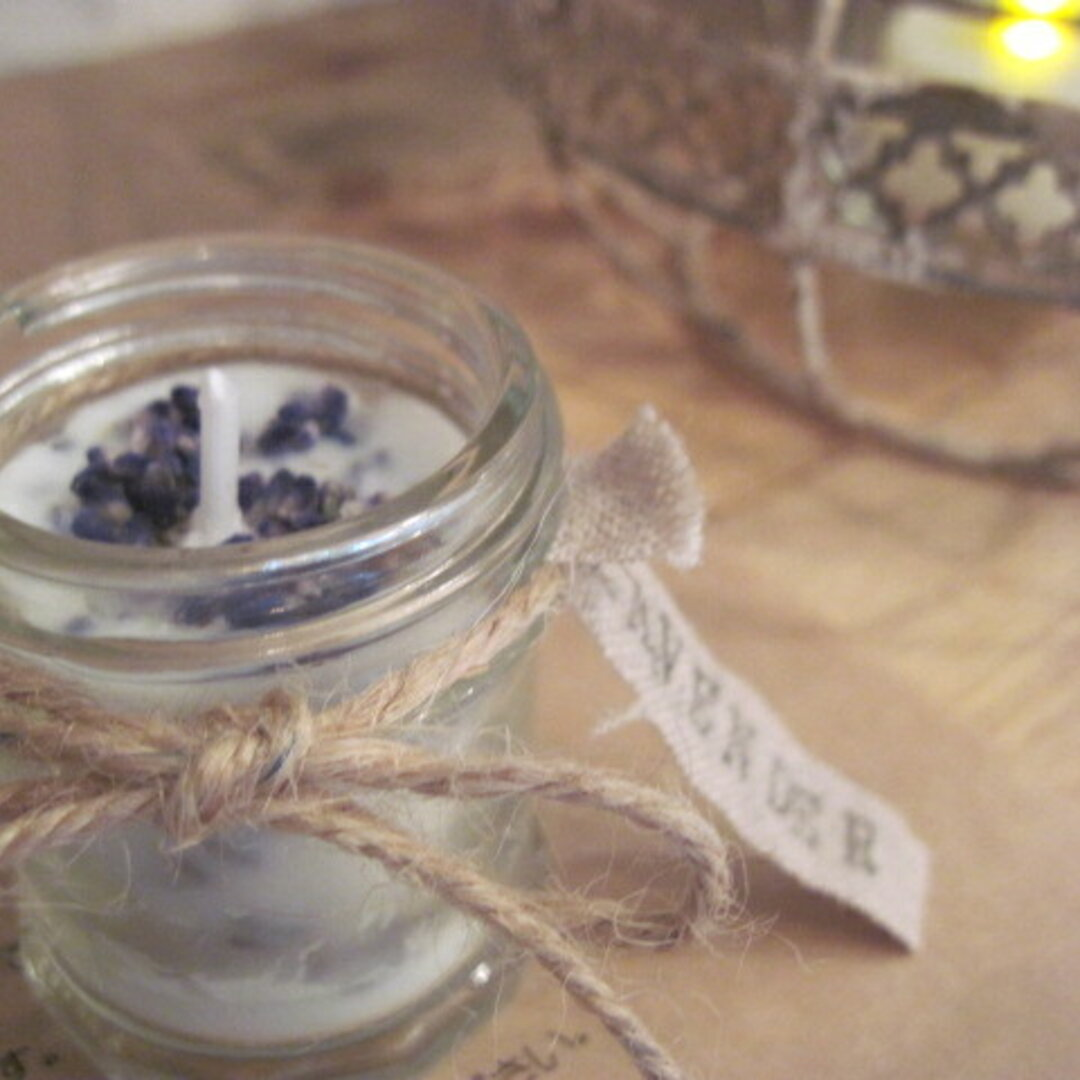 """new""""soy aroma candle""""Lavender""""再販"""
