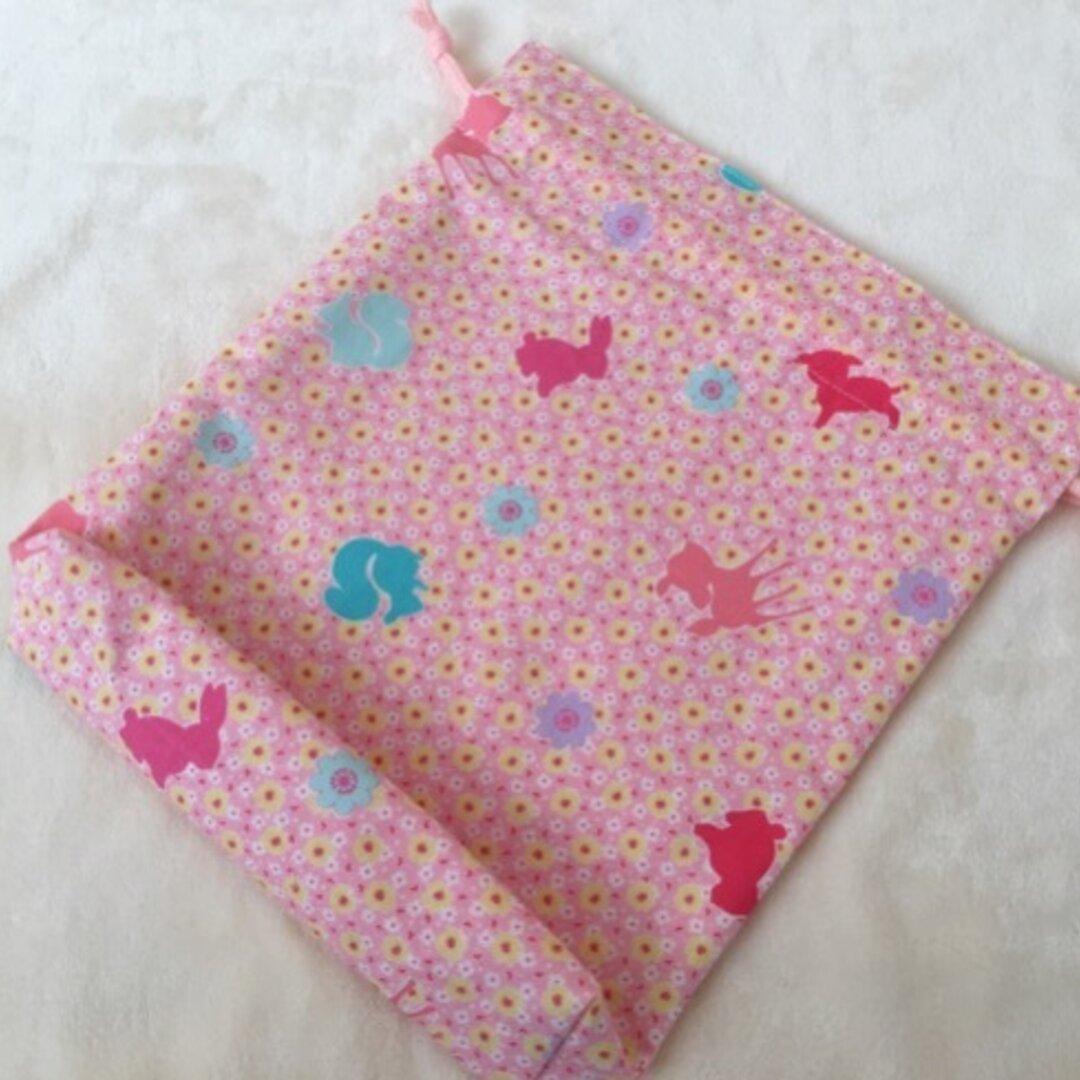 ★巾着袋  花柄&動物 ★