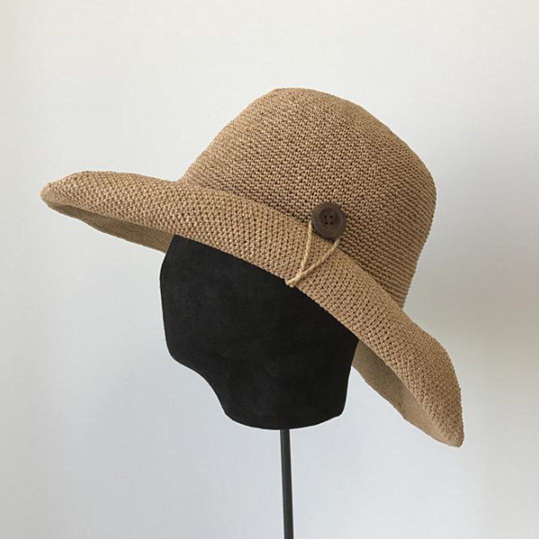 帽子☀レディース 夏帽子 ハンドメイド 日よけ帽子 夏 ハット ストローハット アウトドア 夏のお出かけ