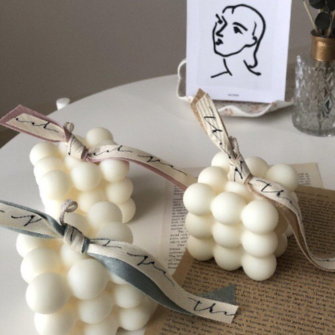 ♥③種類から選べる♥ソイキャンドル ボンボンキャンドル 韓国インテリア 結婚式のウェルカムスペース装飾 誕生日ギフト