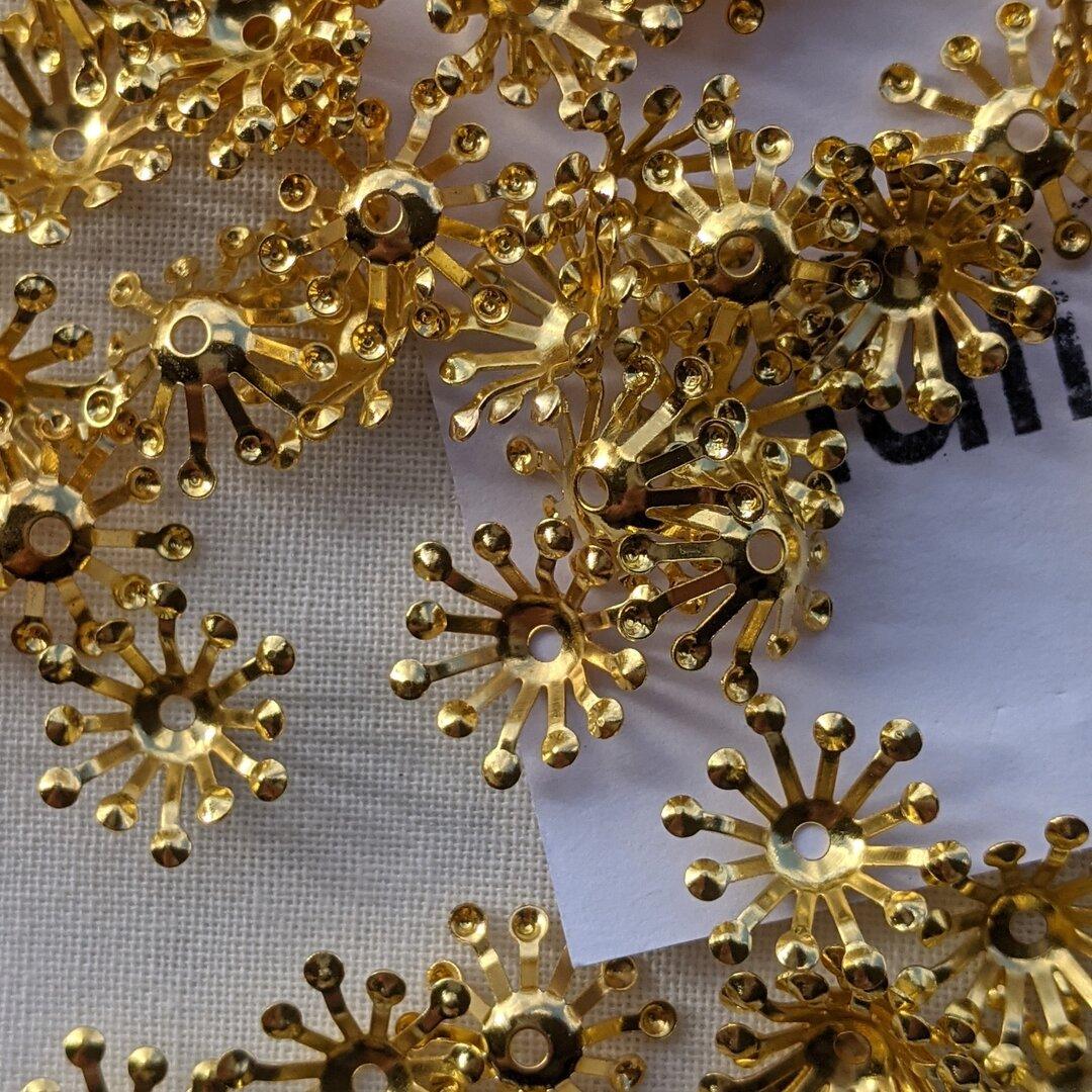 60個 金属ゴールドスペーサー