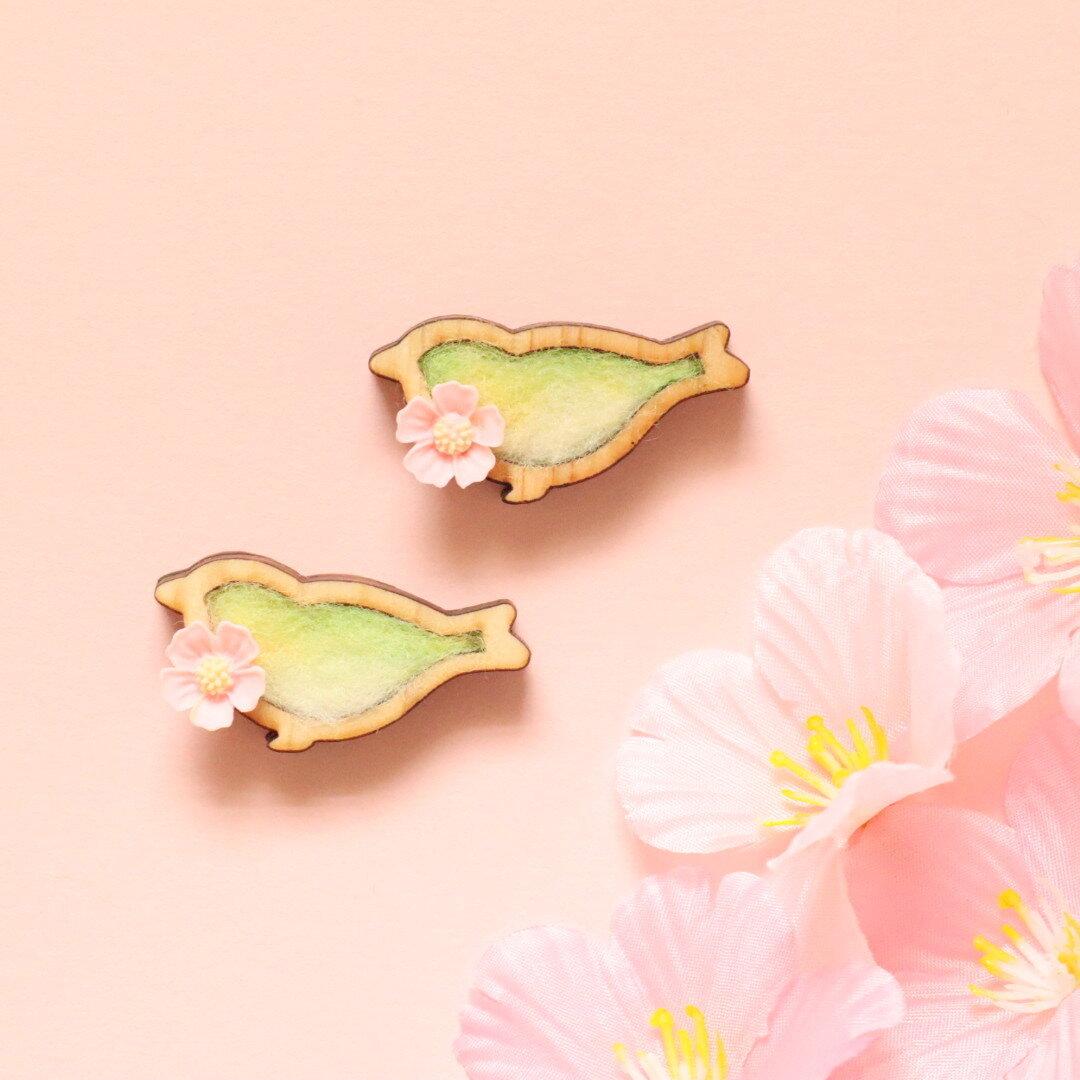 🌸 桜サクジローのブローチ