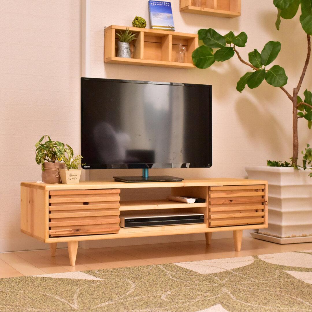 TVボード 120cmナチュラル  テレビボード