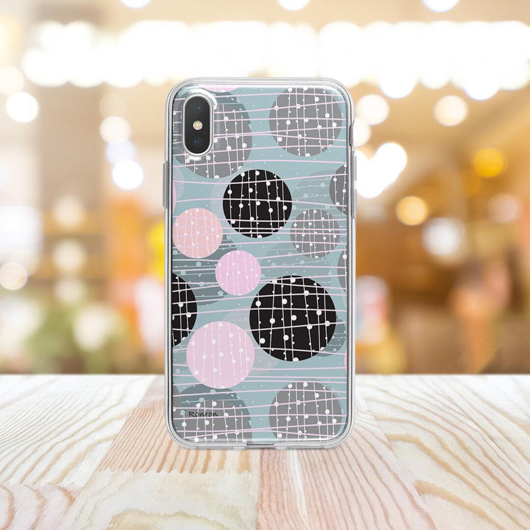 ボンボン ブルー Apple iPhoneケース androidケース ハードケース  vehi260