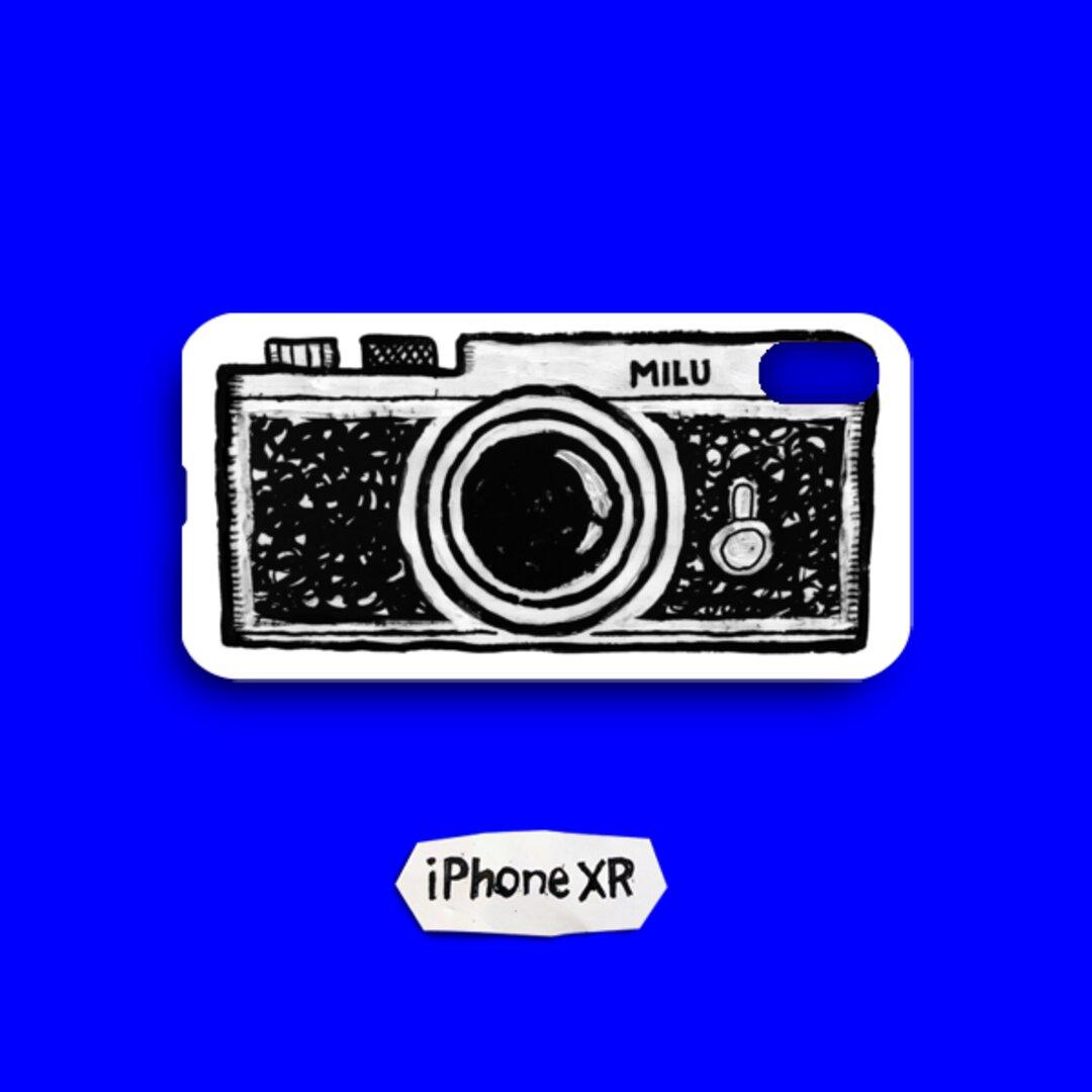 MILUのカメラ iPhone XR ケース