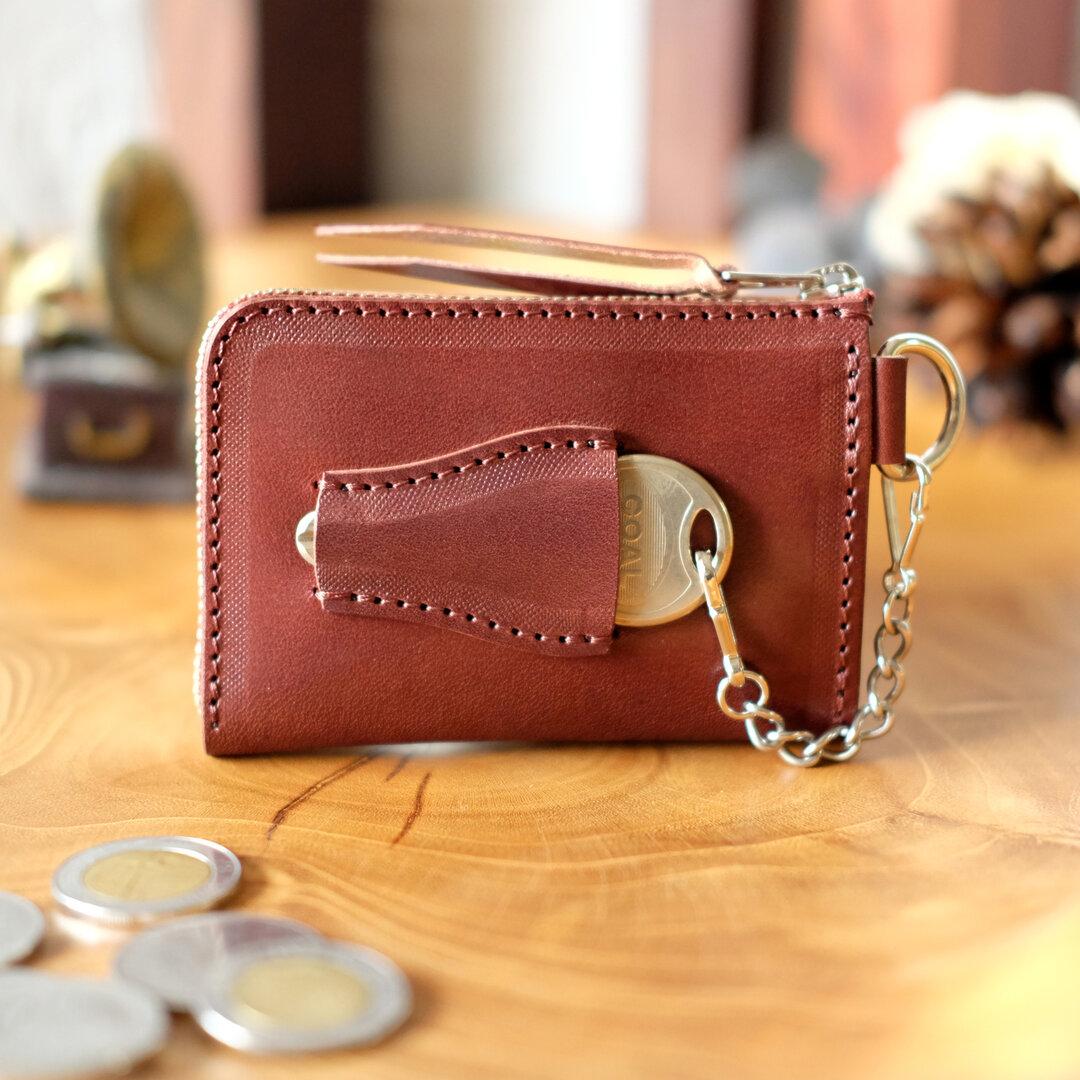 鍵も仕舞える小さい財布   BitterChoco