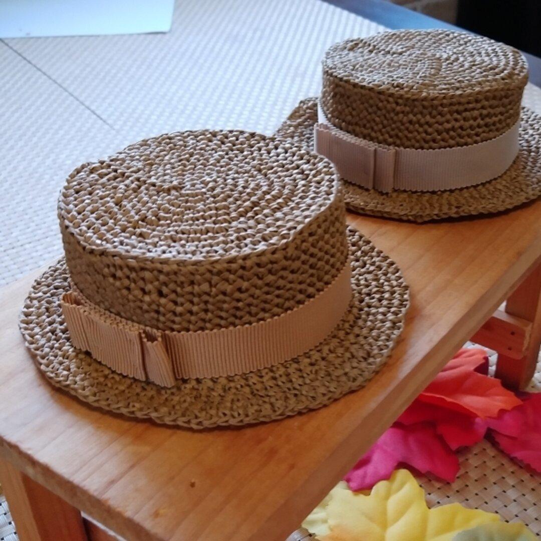 秋冬カラー ミディブライス用カンカン帽   9パターン 20㎝