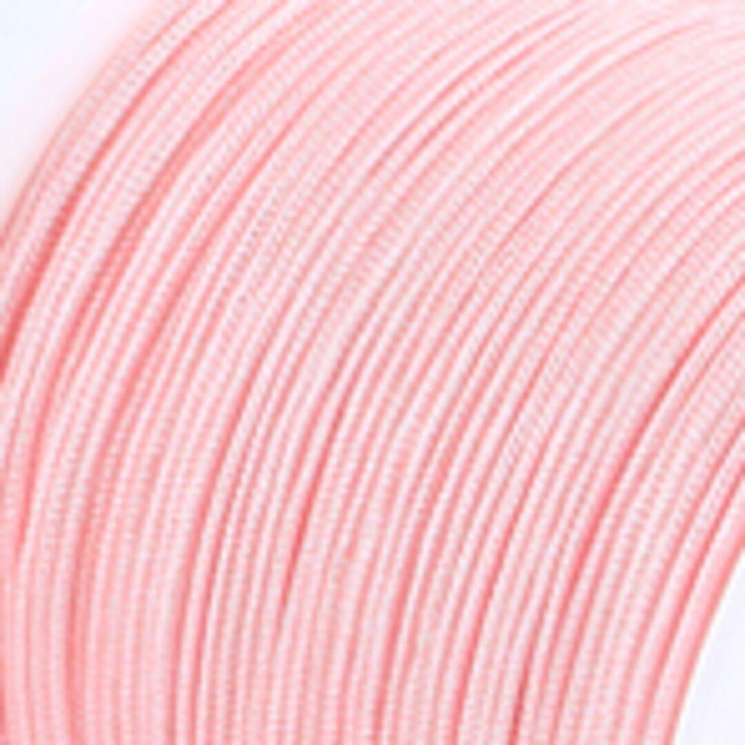 【サーモンピンク】P008:中国結び用紐0.5mm (台湾AB線・72号)22メートル単位売