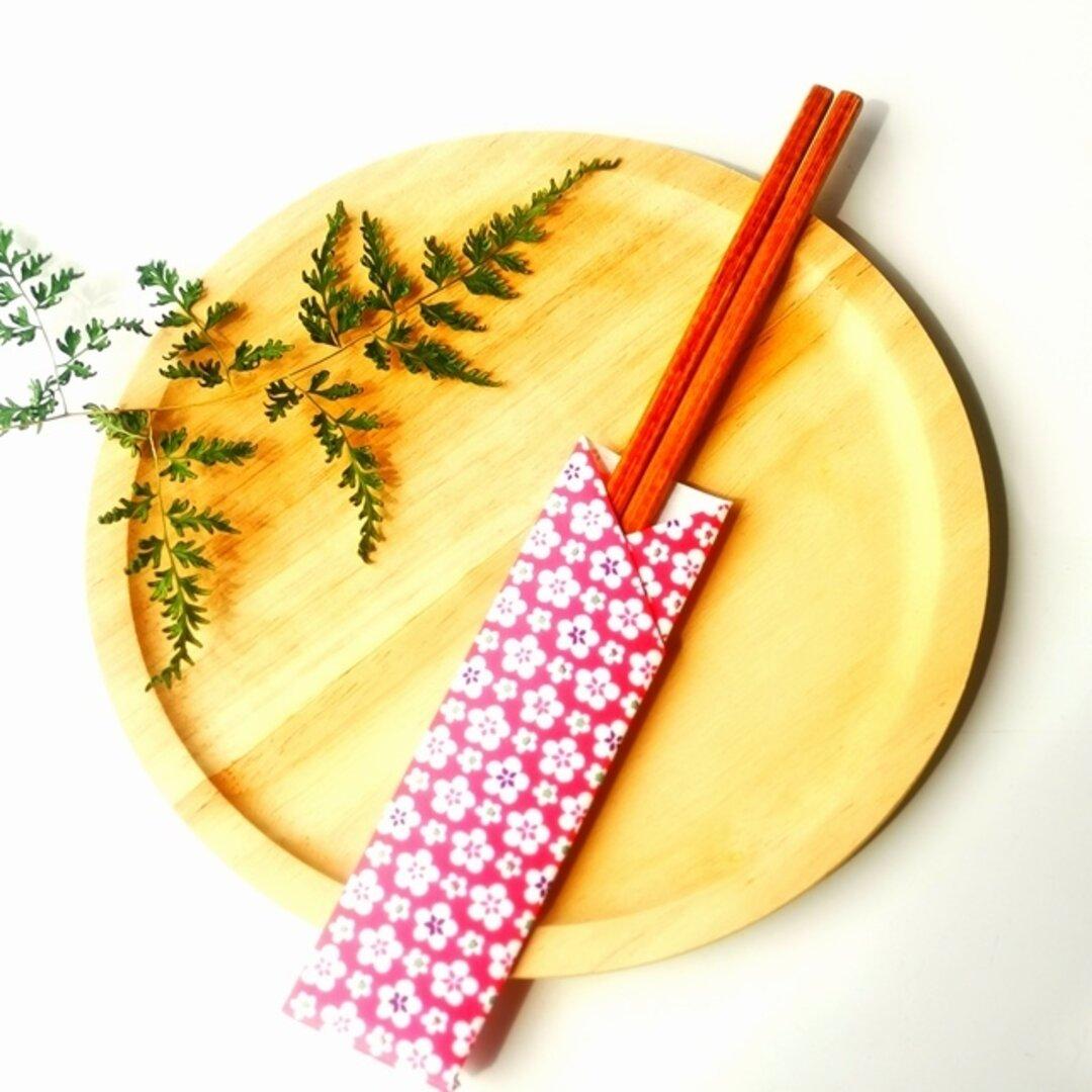 竹箸 漆コーティング 黒・赤・茶