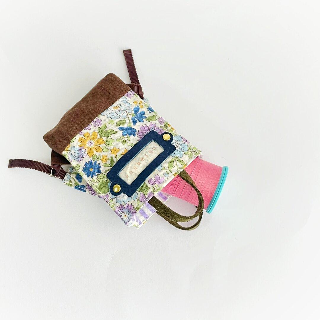 紙袋風ミニリュック(紫系)