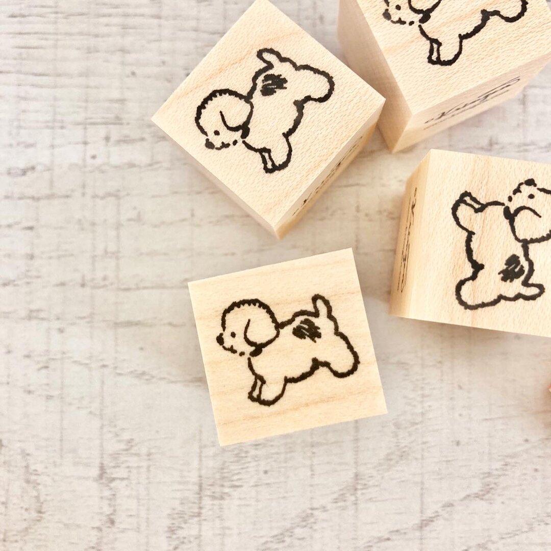 No.98. Running Puppy ハンコ