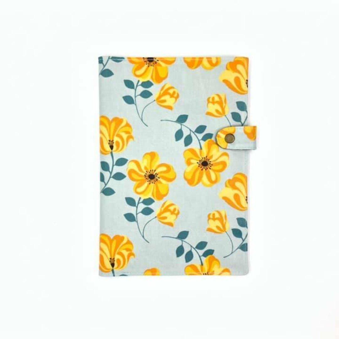A5ノートカバー 黄色い花