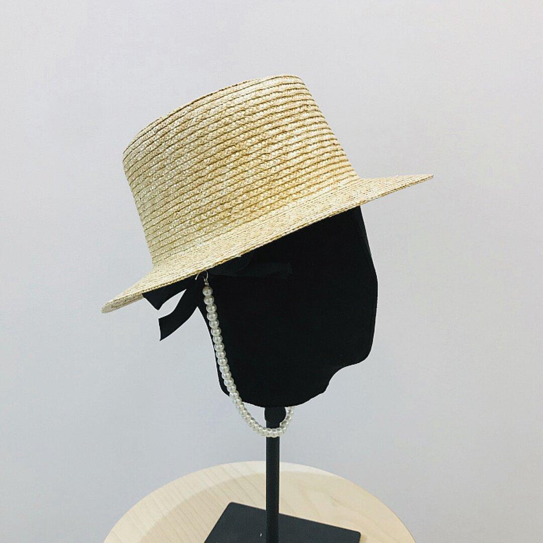 帽子☀ストローハット 夏 アウトドア ハット 夏帽子 夏のお出かけ 日よけ帽子 ハンドメイド レディース
