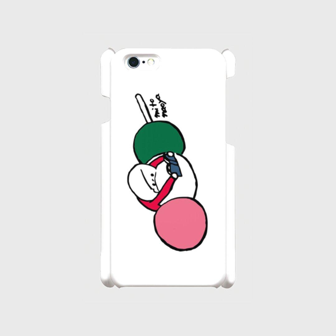 iPhoneケース「3色団子」