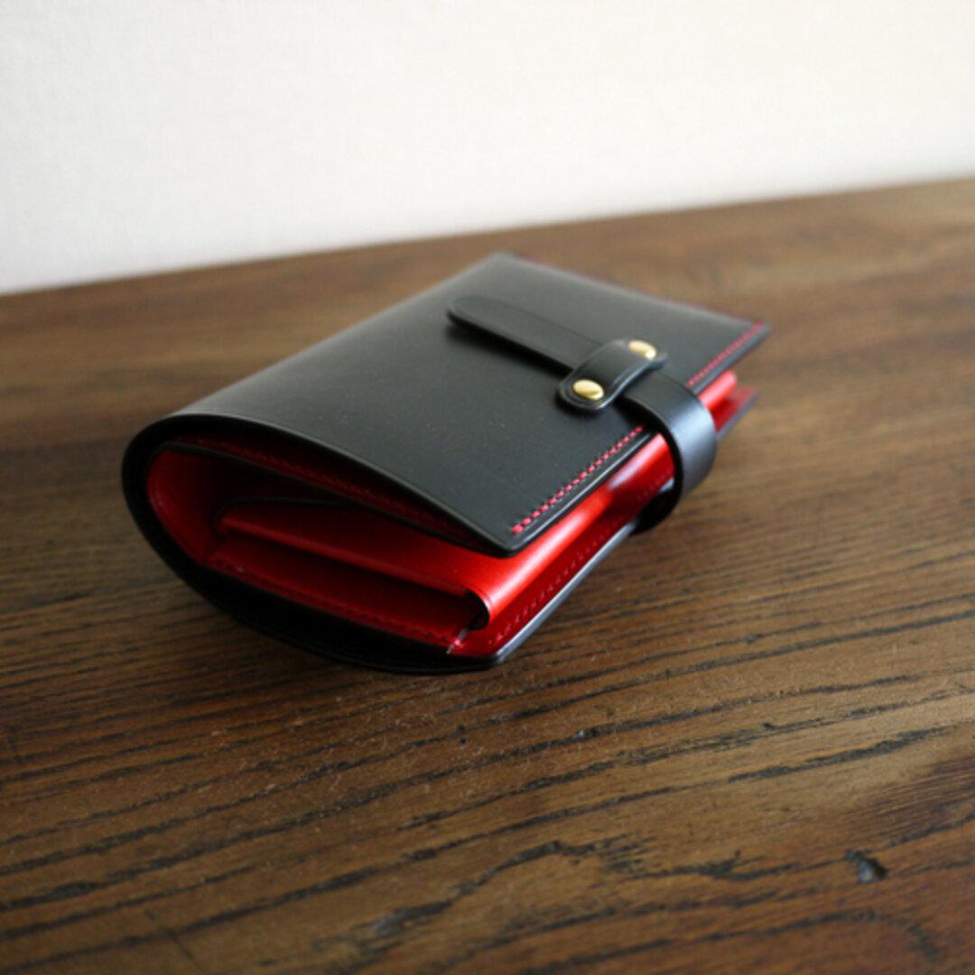 二つ折り財布:TRIP(ストラップ付き)