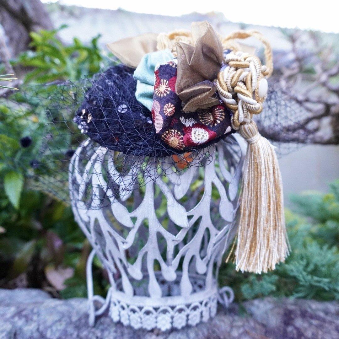 トーク帽〜black〜
