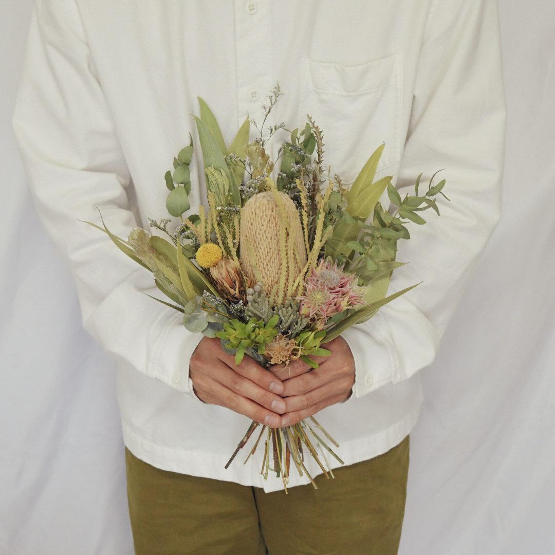 ネイティブフラワーブーケ Sサイズ ドライフラワー 花束 スワッグ
