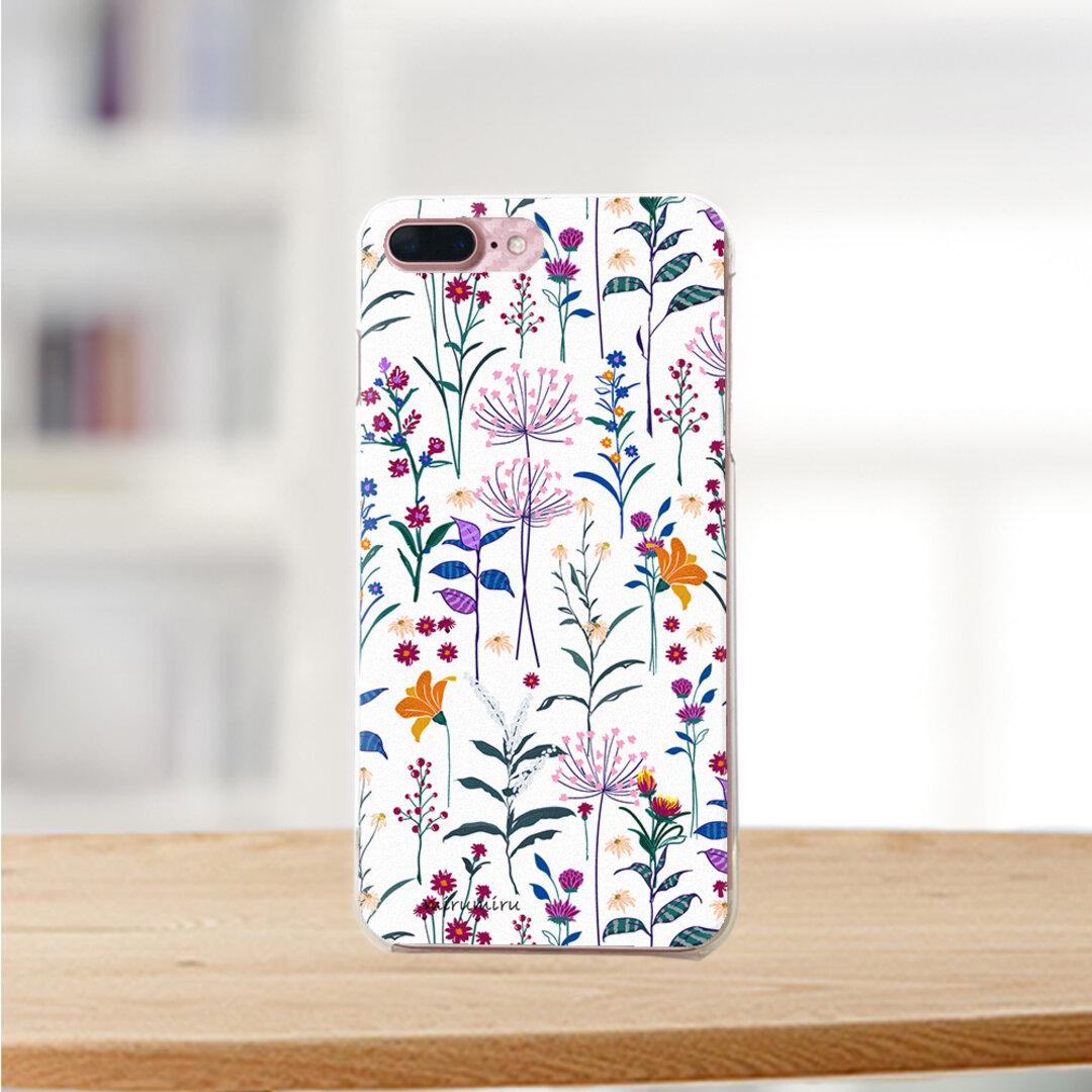 【再販】大人可愛い 華やか 小花柄  miru02-730 ハードケース