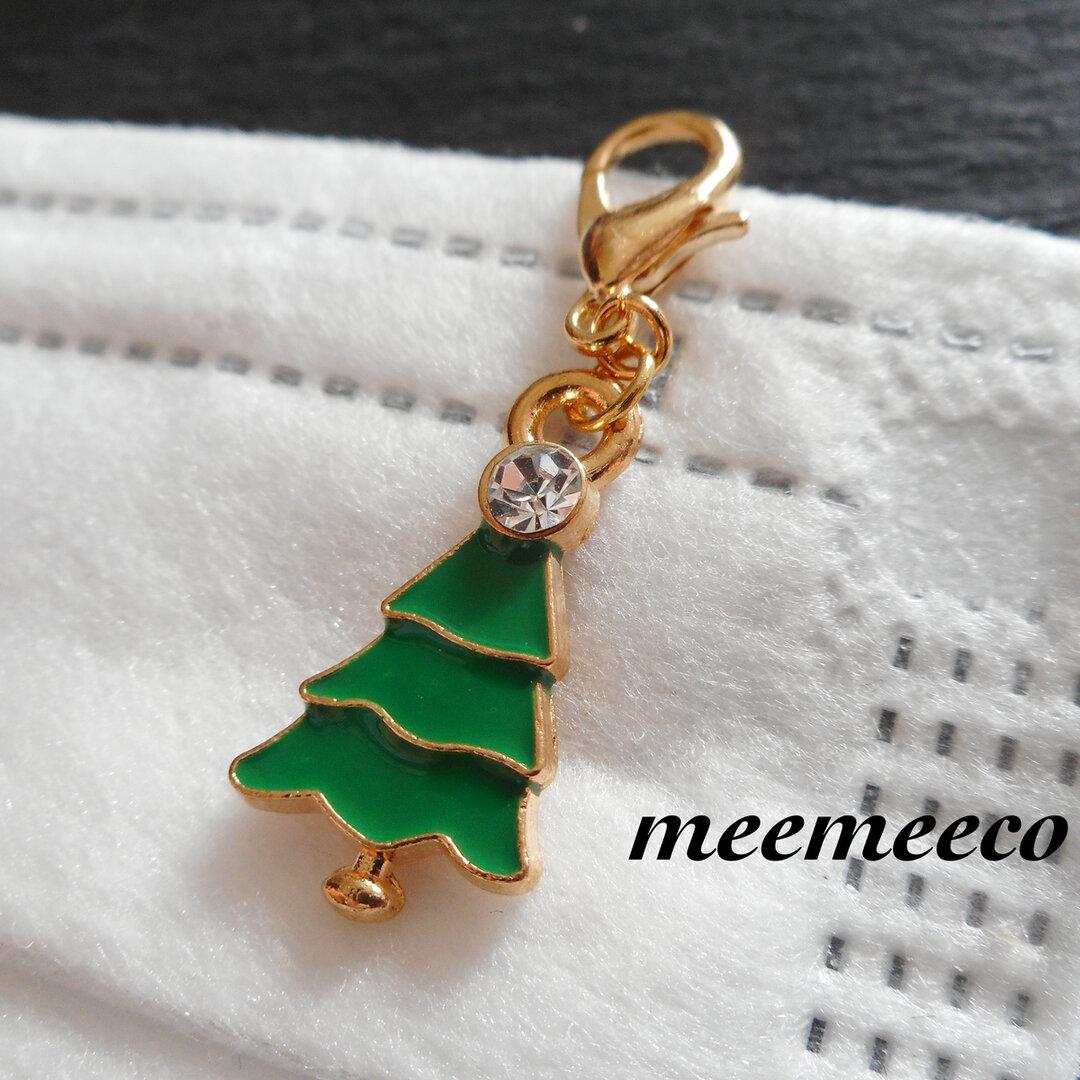 2-222  マスクチャーム クリスマスツリー 5