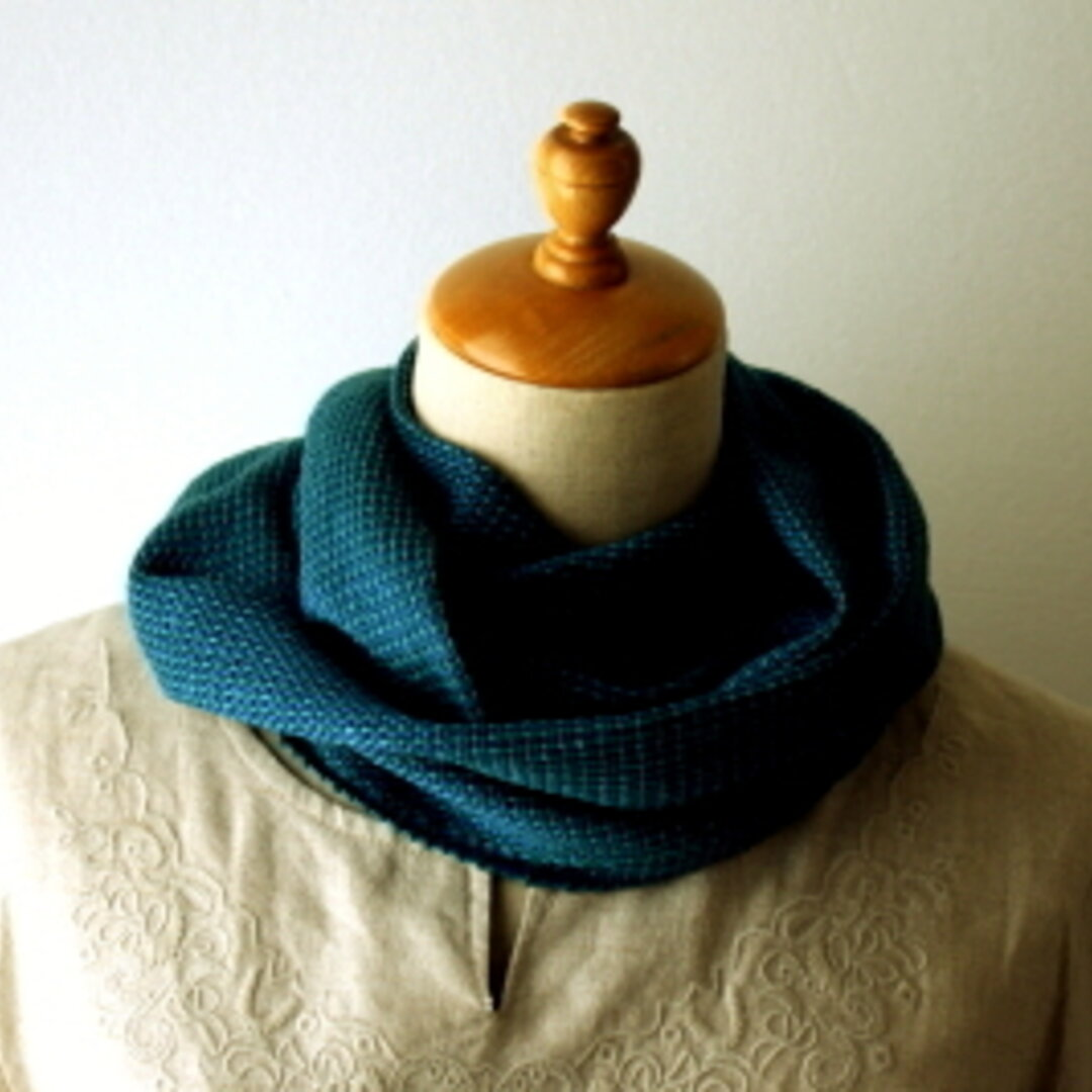 シルク手織りストール 808