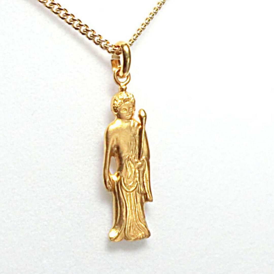 銀製:純金仕上『聖観音ペンダント』・彫金家:百川清作
