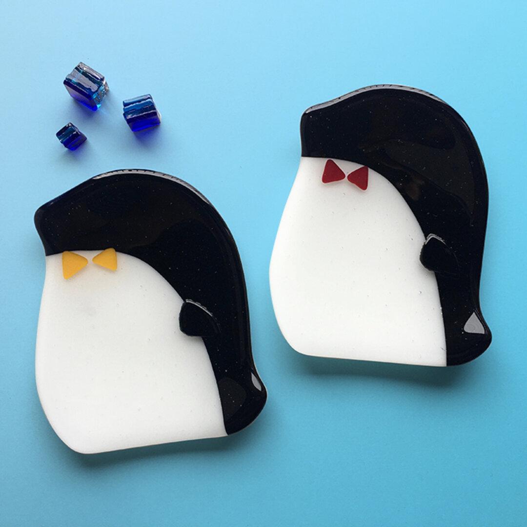 おうちde楽しむ ペンギンのお皿