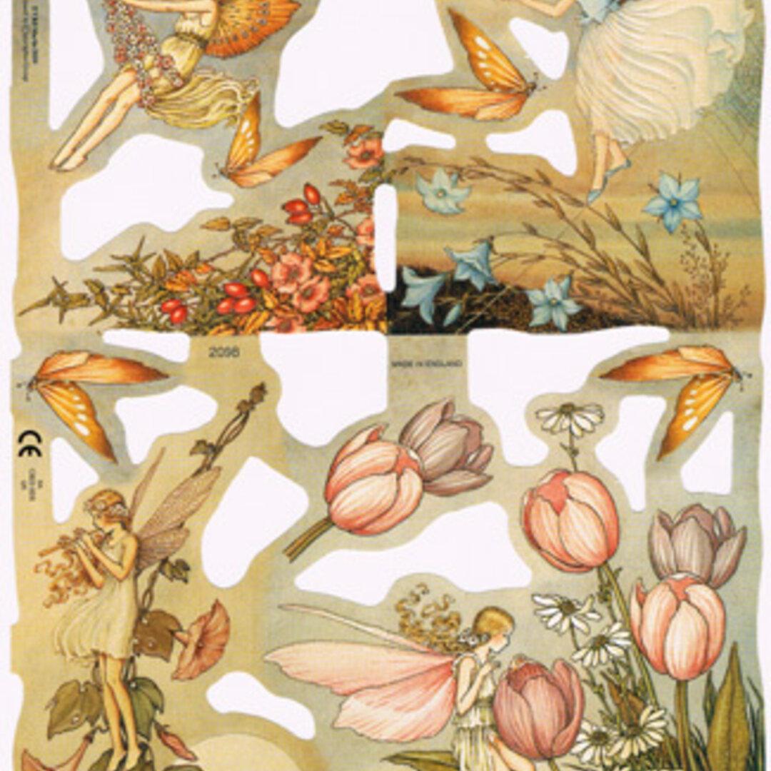 廃版イギリス製クロモス 花の精#2 ラメなし【England】DA-CHER012