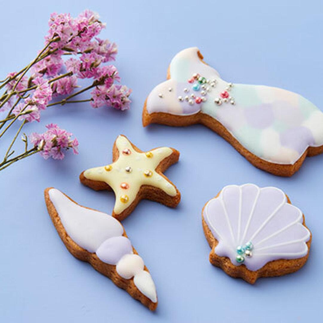 【マーメイドセット】アイシングクッキー!