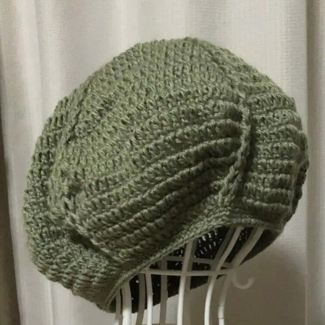 ウールのまあるいニット帽