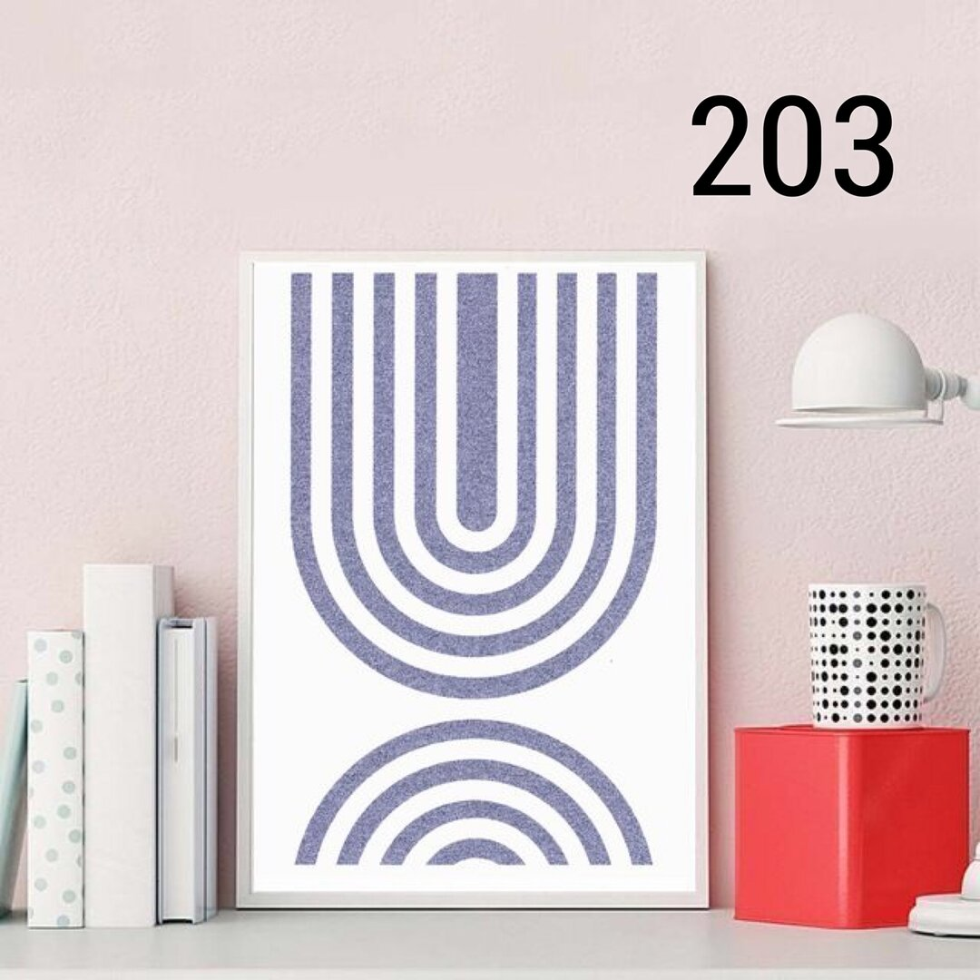 No.203.グラフィックアート U   北欧雑貨 ウェルカムボード⭐︎ポスター インテリア 北欧  アート