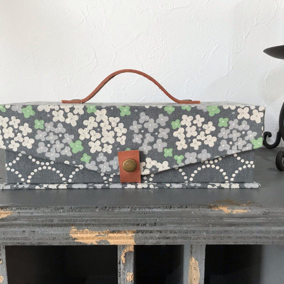 ミニ金庫   紫陽花