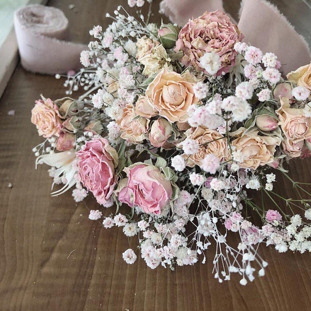 "flower bouquet : ""un""  ミニブーケ フラワー スワッグ  ドライフラワーブーケ"
