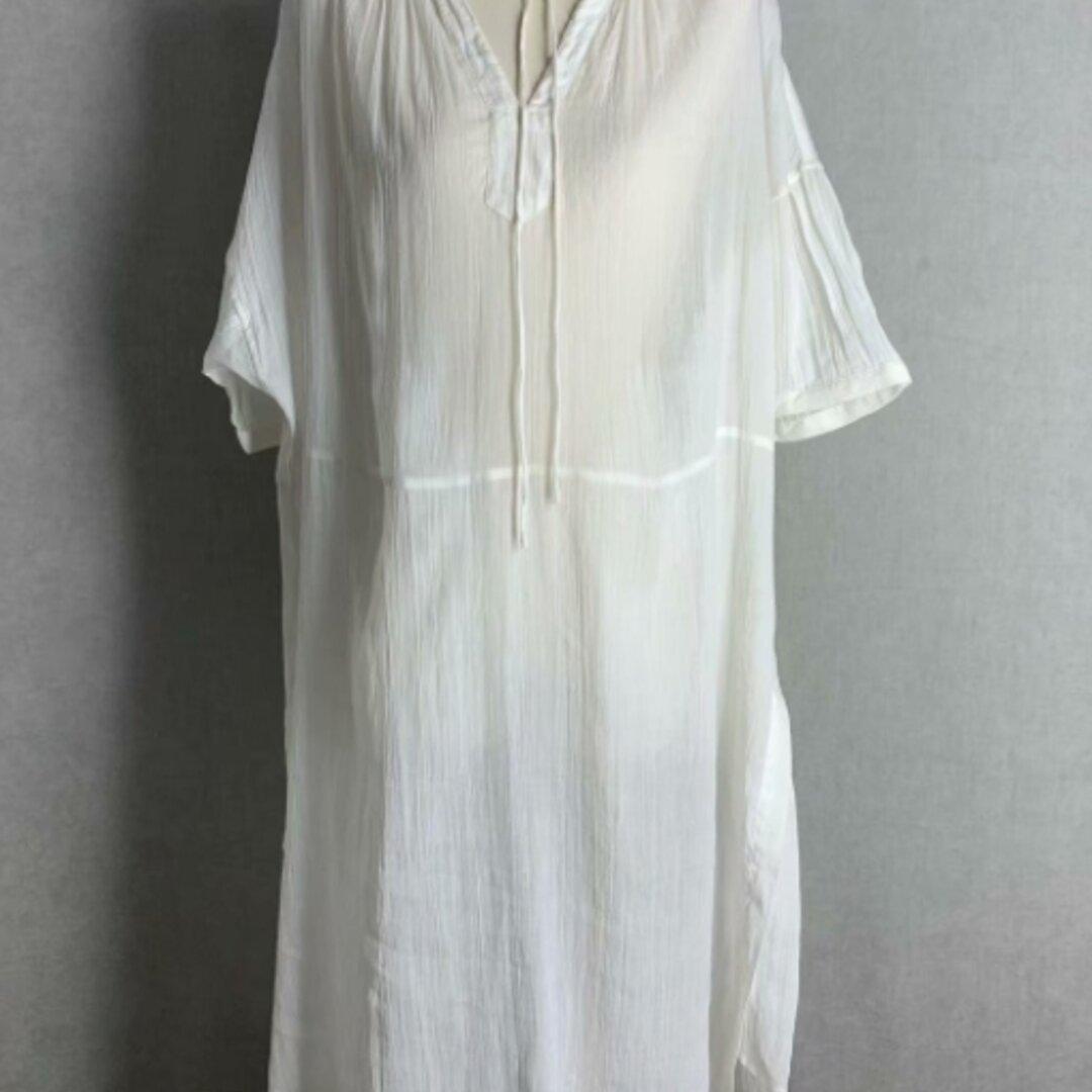 【受注制作】ロングドレス /高品質コットン ワンピース ゆったり