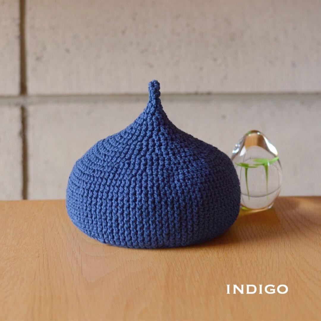コットンどんぐり帽子♡ (indigo)