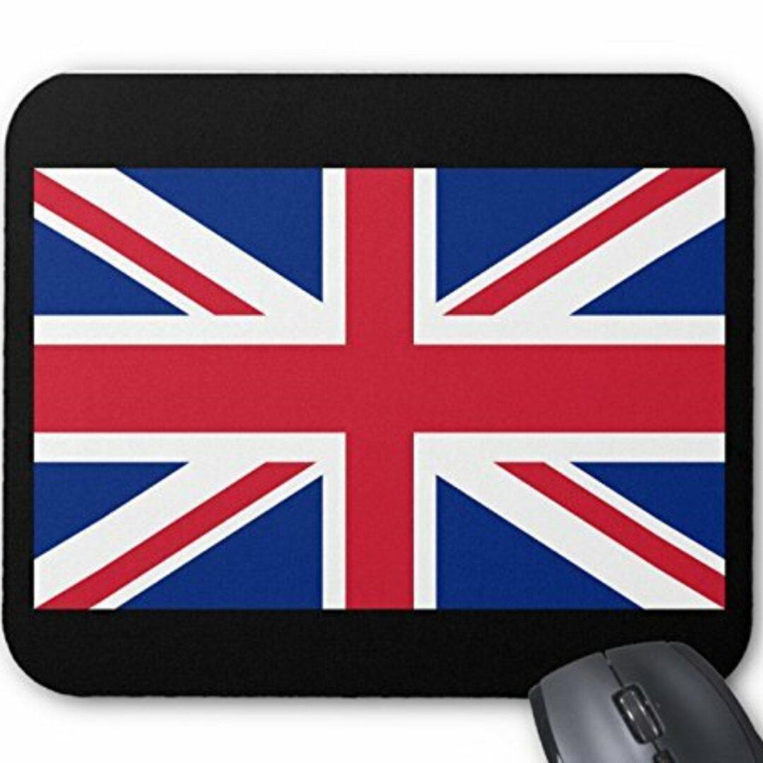 イギリス国旗、ユニオンジャックのマウスパッド :フォトパッド( 世界の国旗、軍旗シリーズ ) (E)