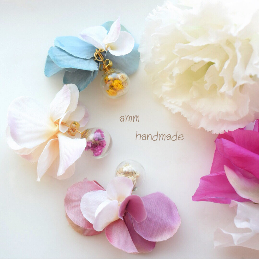9×3color ♡ flower domes