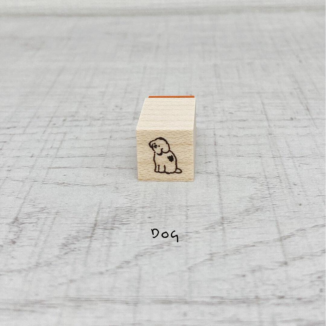 No.85ミニハンコ Dog