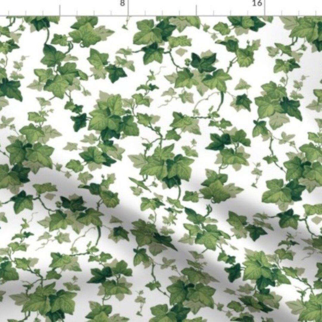 輸入生地 生地 ボタニカル 植物 花 草木 ハーブ ハンドメイド素材 緑 自然 風景