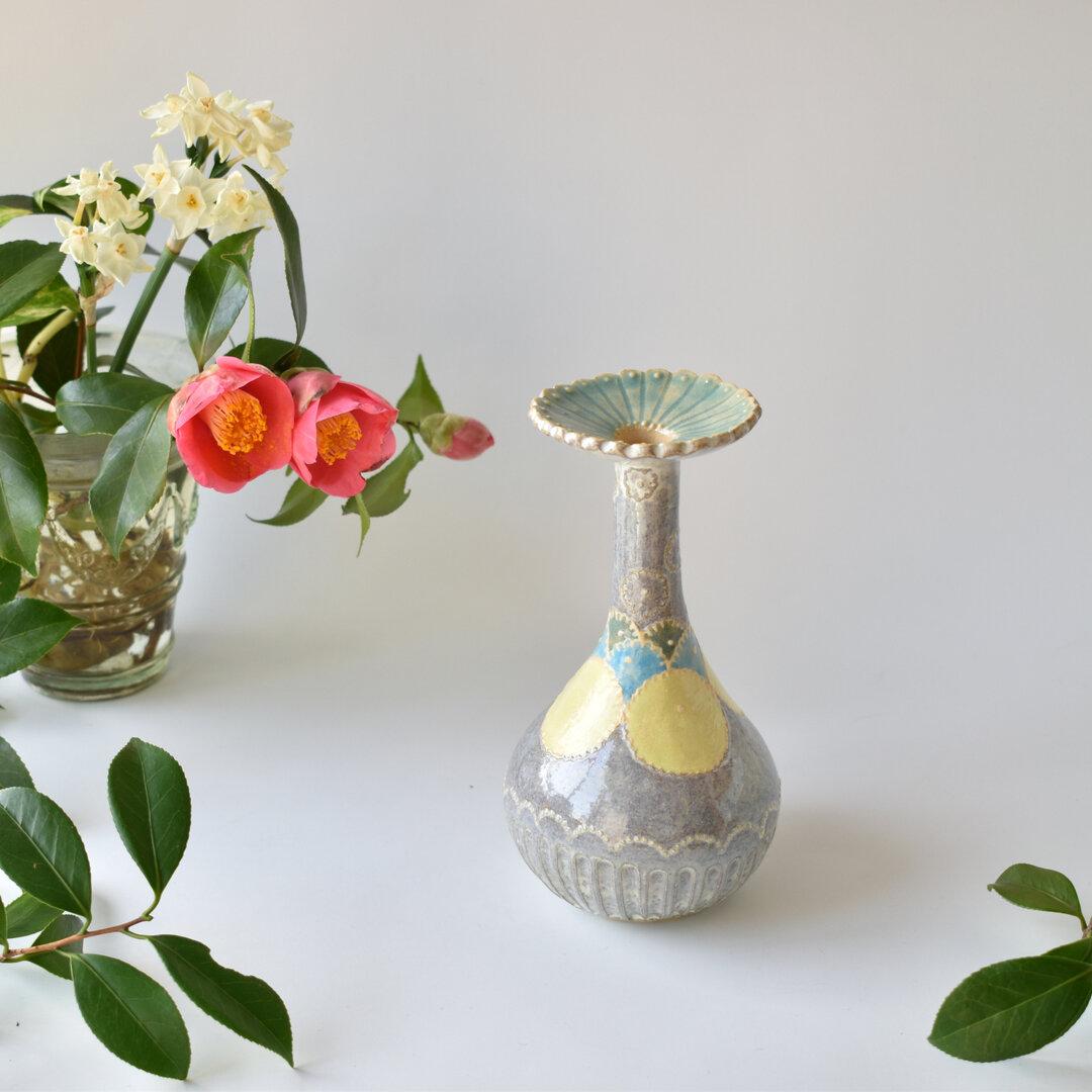 朝露をとる 花器