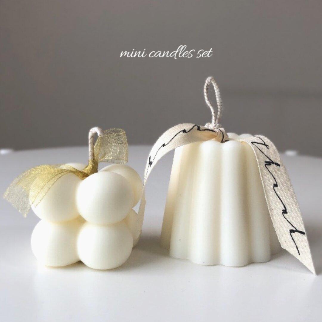♥カヌレキャンドルSET♥韓国インテリア 結婚式ウェルカムスペース装飾 誕生日ギフト バースデーフォト スイーツ お祝い ハロウィン