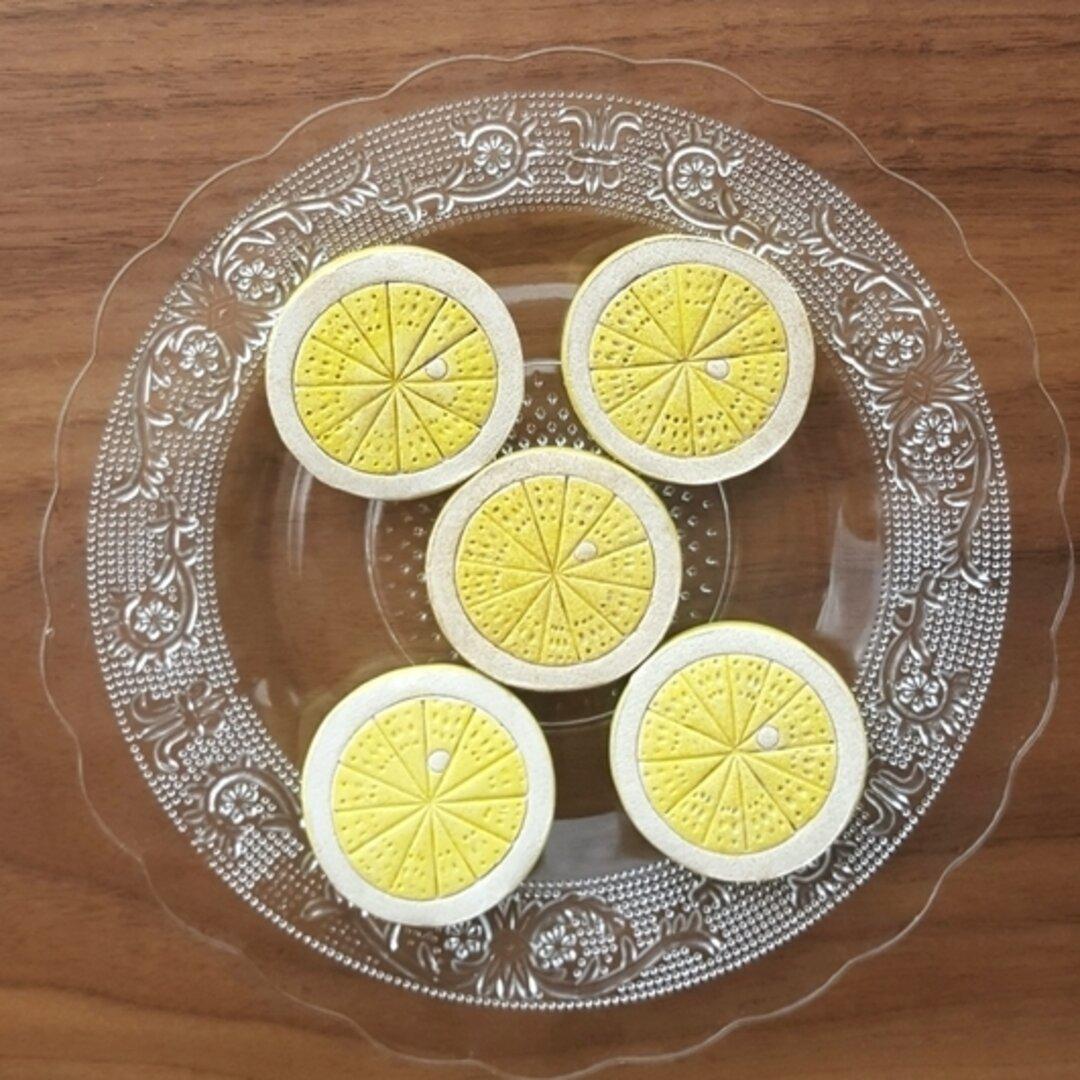 レモンの箸置き