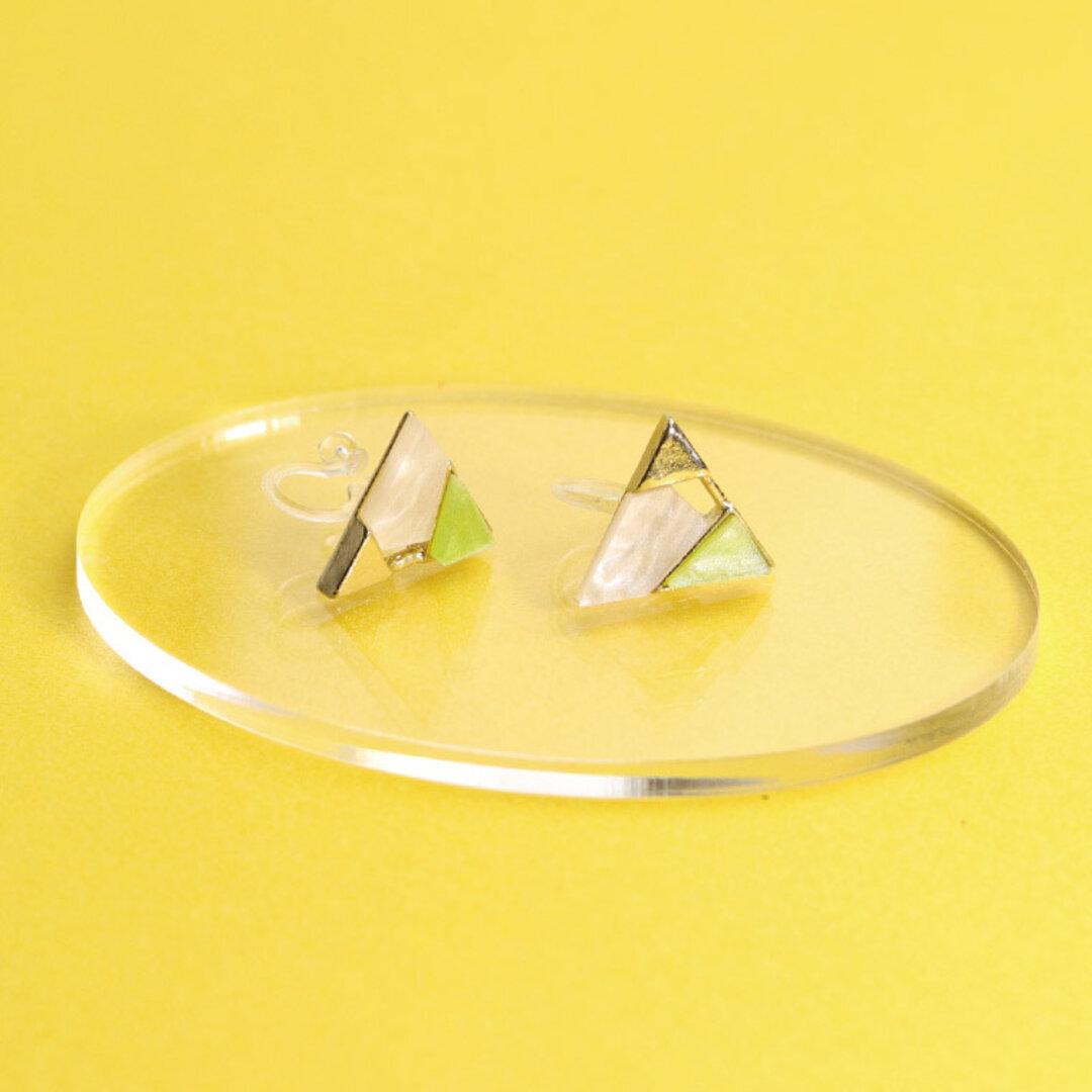 アクリル製 ディスプレイ小物 楕円 クリア 49×72mm 厚さ3mm