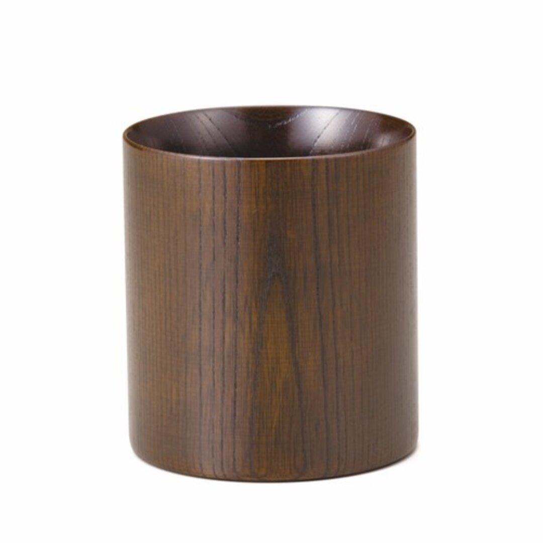 木目の美しい欅の漆塗マグカップです。 Keyaki Mug Cup ブラウン SX-0598
