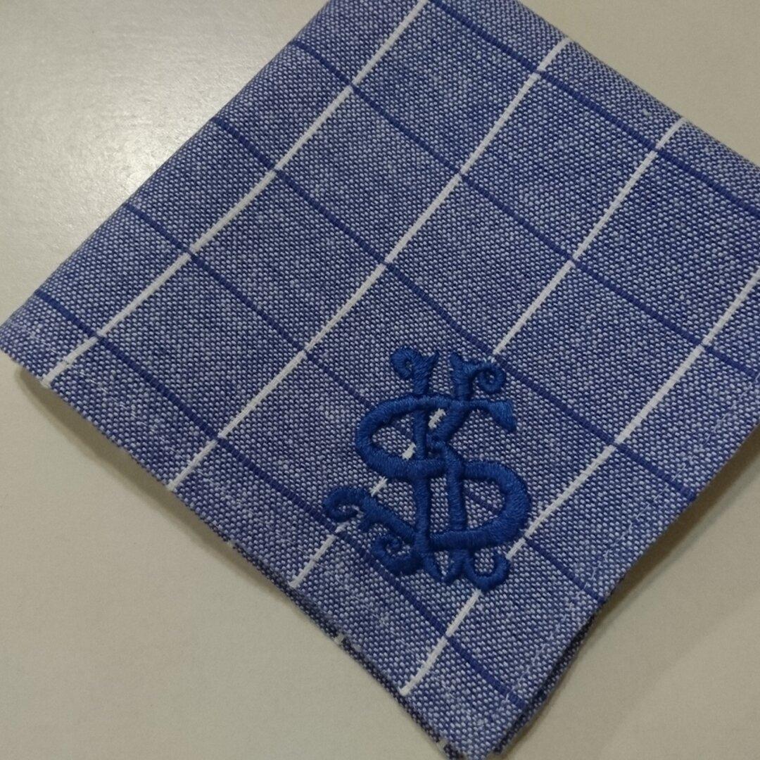 ハンカチ イニシャル手刺繍