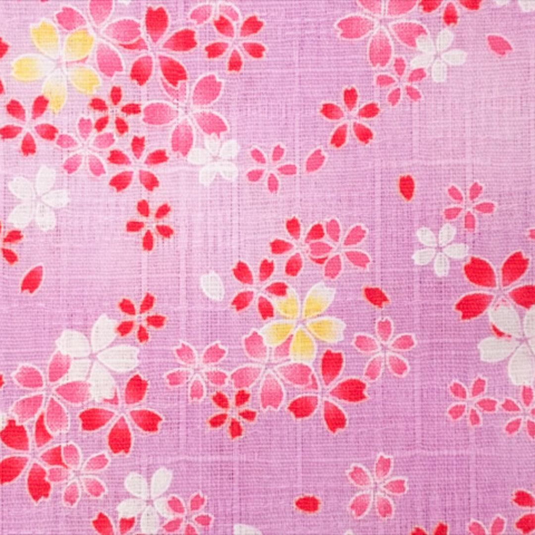 サザンクロス 生地【50*110】和柄 花柄 小花 桜 かわいい コットン ピンク
