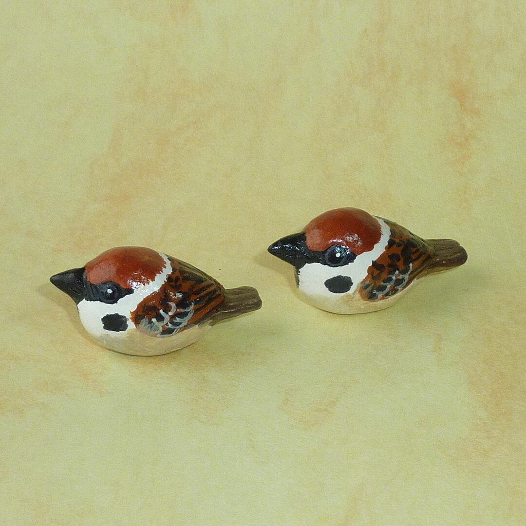 ●豆鳥シリーズ●スズメ