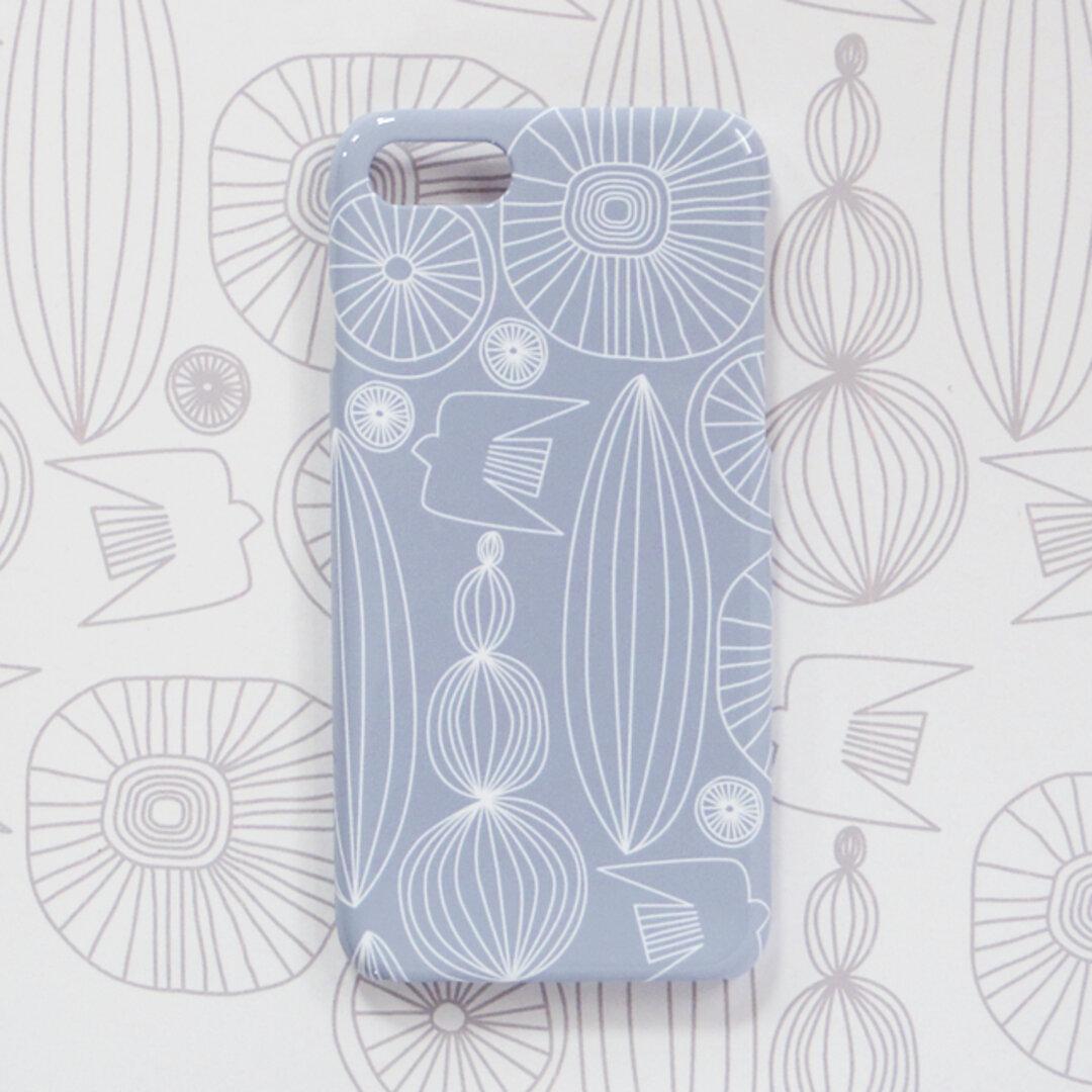 *iPhone / Android*自然へようこそ 北欧 スマホケース/スマホカバー 側面印刷 ハードカバー